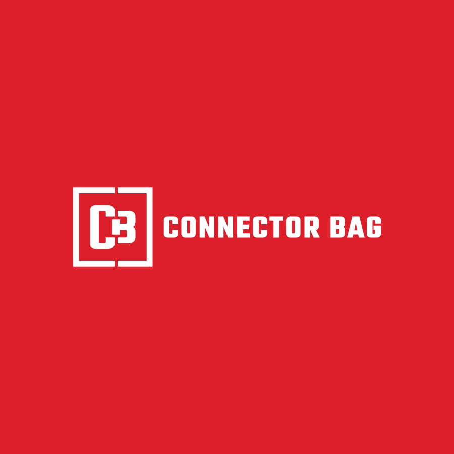 Construction industry monogram logo design for Connector Bag