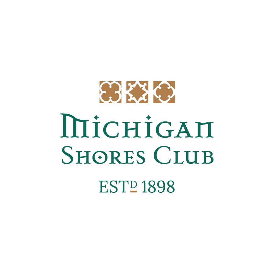 Country club logo design for Michigan Shores Club