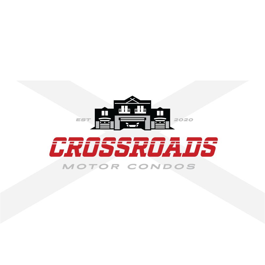 Logo Design for Crossroads Motor Condos in Northwest Indiana