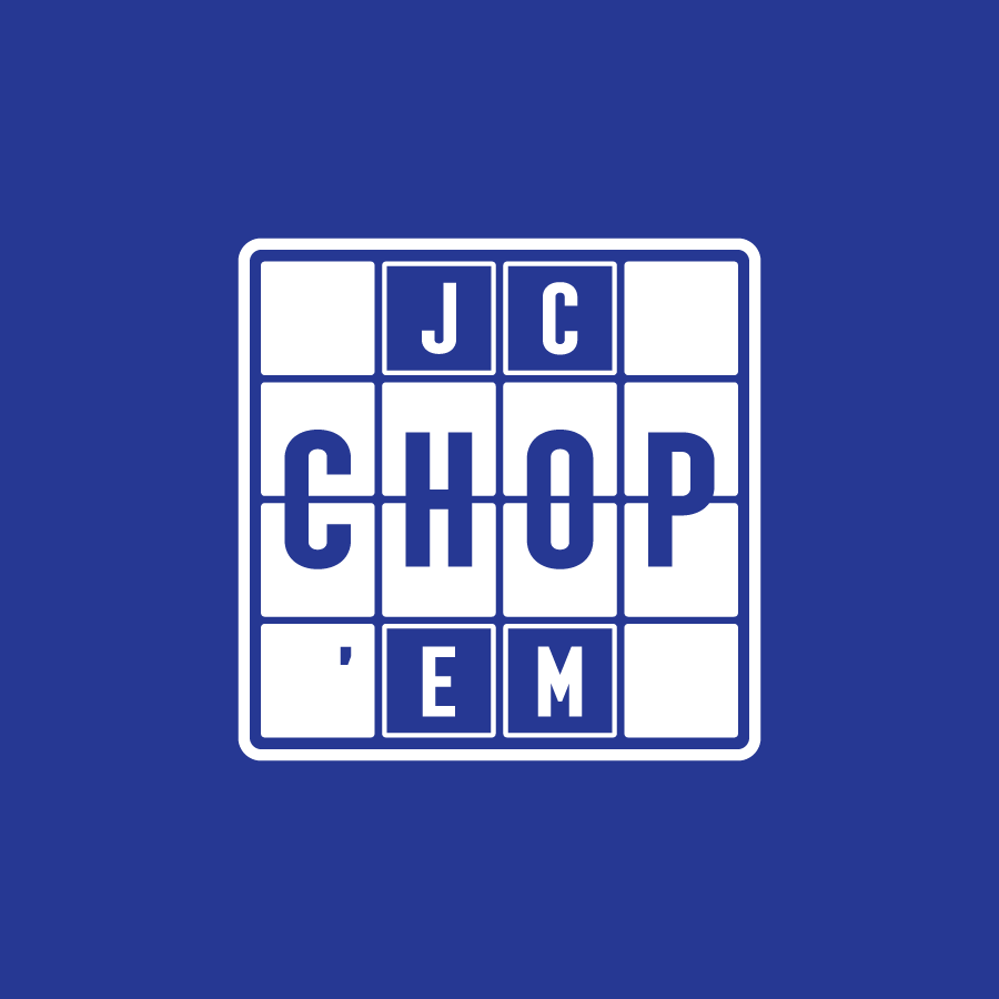 Hip-hop producer logo for JC Chop Em' in Merrillville, Indiana