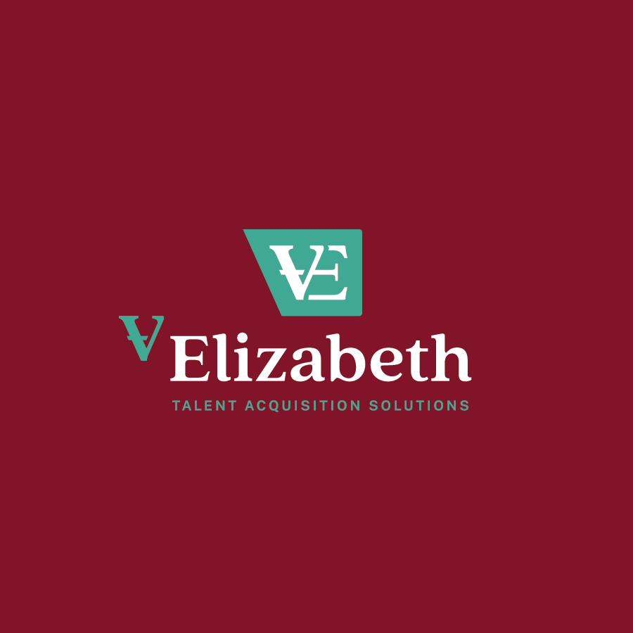 Staffing Agency logo design for V Elizabeth Talent Acquisition Solutions