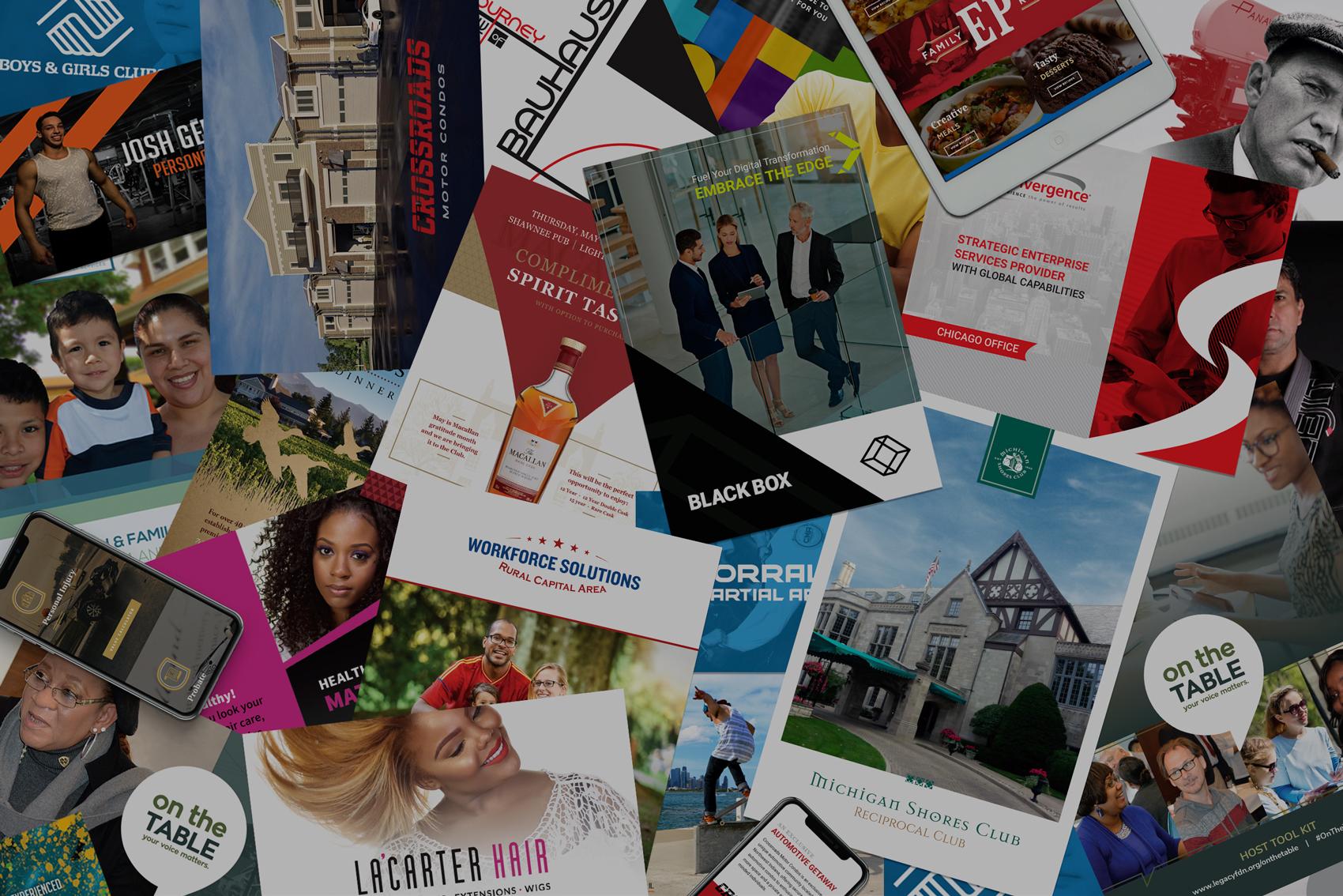 Kyle Kucsera Design portfolio collage