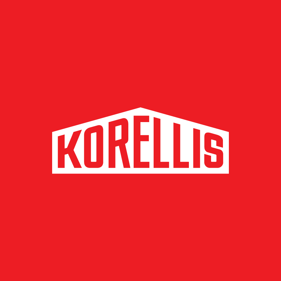 Logo design for Northwest Indiana commercial and industrial service provider, Korellis