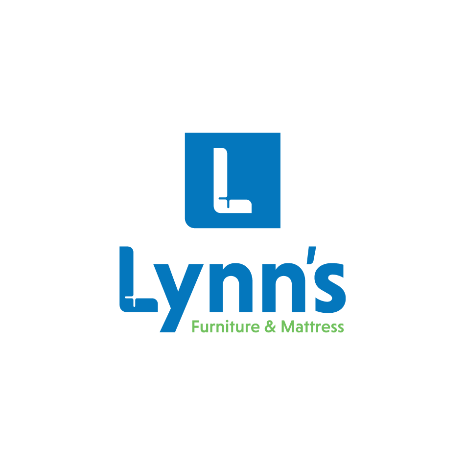 Furniture store logo for Lynn's Furniture and Mattress in Schererville, Indiana