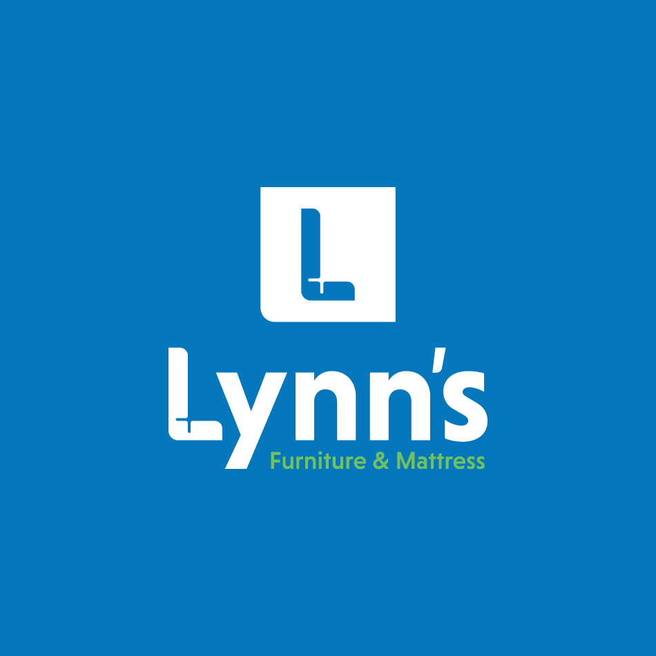 Furniture store logo for Lynn's Furniture and Mattress