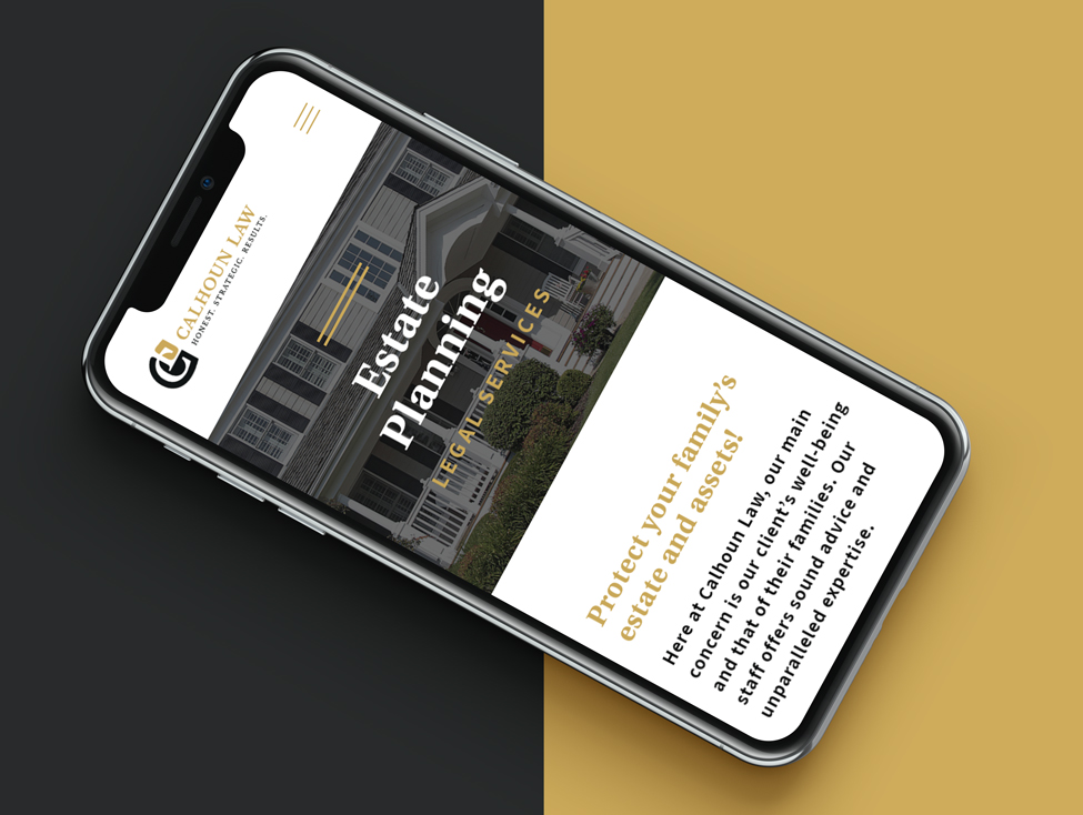 Mobile responsive web design for a Northwest Indiana Law Firm