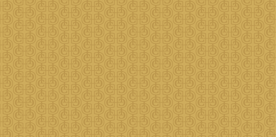 Gold CL Monogram pattern for a Law Firm in Northwest Indiana