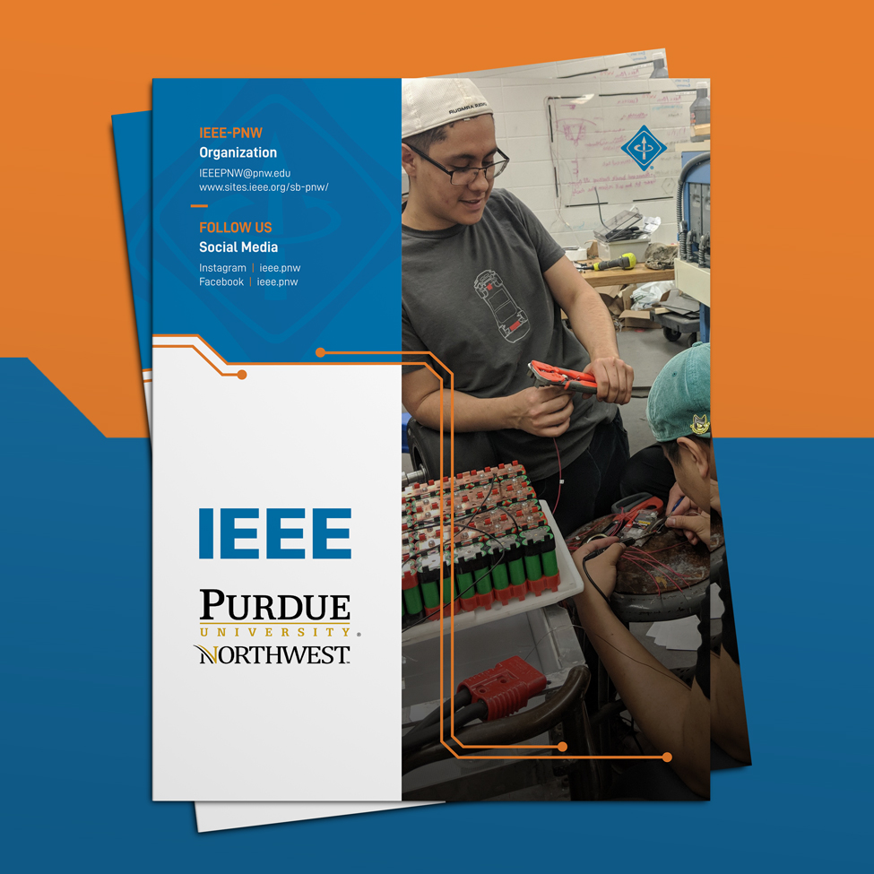Back cover design of IEEE sponsorship packet