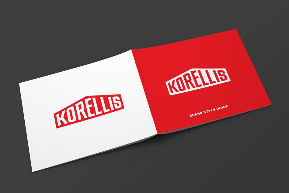Korellis Brand Guideline Booklet Cover